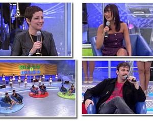 Famosos participaram do quadro (Foto: Domingão do Faustão / TV Globo)