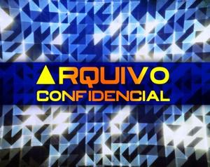 Logo Arquivo Confidencial - Grande (Foto: Domingão do Faustão / TV Globo)