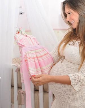 Tudo pronto para coleguinha Eloah dar à luz! (Andreia Barbosa)