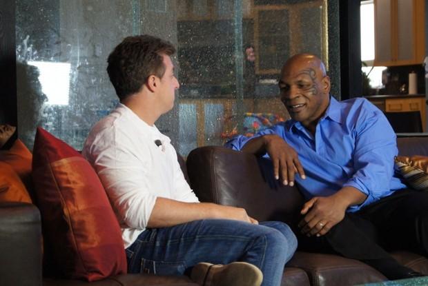 Mike Tyson (Foto: Caldeirão/TV Glovo)