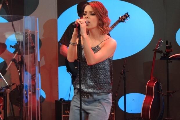 sandy canta no caldeirão (Foto: divulgação/tv globo)
