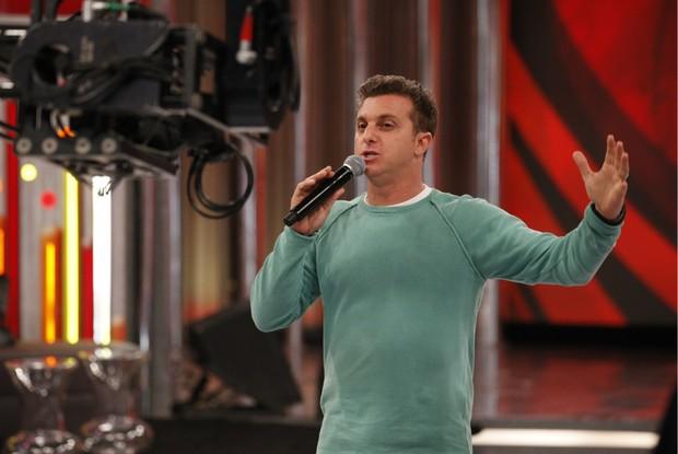 huck no palco (Foto: divulgação/tv globo)