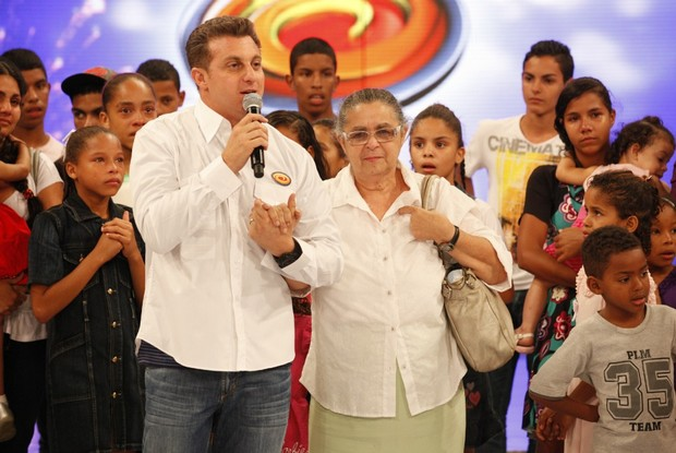 dona eunice (Foto: caldeirão/tv globo)
