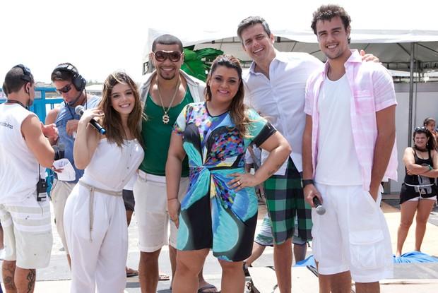 Jurados do Musa do Carnaval (Foto: Caldeirão do Huck / TV Globo)