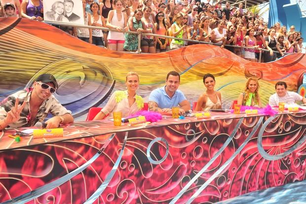 Musa do Carnaval - Jurados_SP_2 eliminatória (Foto: Caldeirão do Huck/ TV Globo)