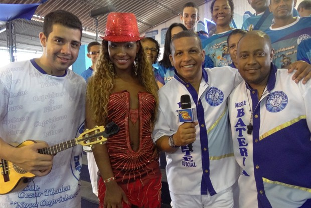 Samba do Caldeirão (Foto: Caldeirão do Huck / TV Globo)
