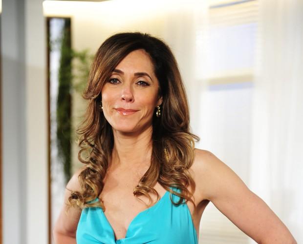 Christiane Torloni (Foto: TV Globo / Domingão)