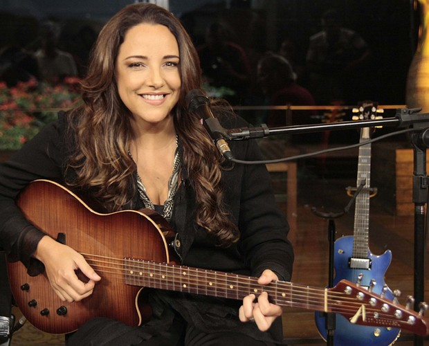 Ana Carolina concorre na categoria cantora (Foto: TV Globo / Alex Carvalho)