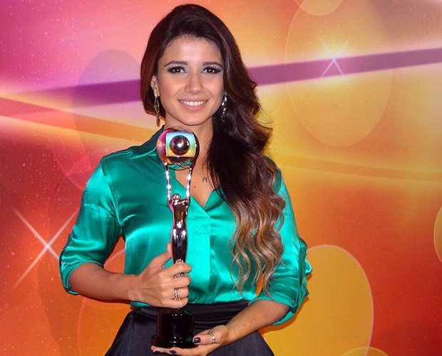 Paula Fernandes (Foto: TV Globo / Domingão do Faustão)