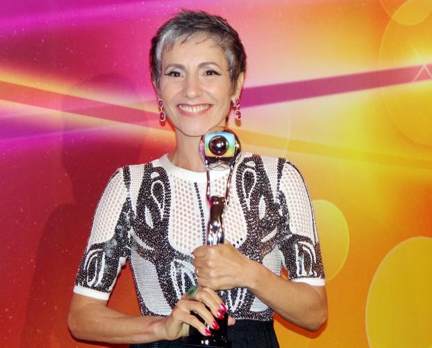 Cassia Kiss Magro (Foto: TV Globo / Domingão do Faustão)