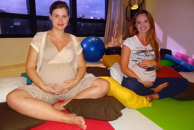Carolinie Figueiredo e coleguinha Fernanda Goeth (Foto: Carolinie Figueiredo e coleguinha Fernanda Goeth Divulgação / TV Globo)
