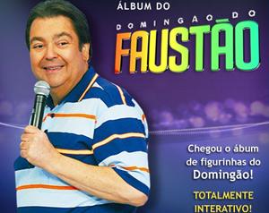 álbum (Foto: Domingão do Faustão / TV Globo)