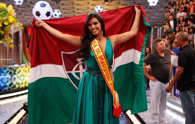 Bianca, a Musa do Brasileirão 2011 (Foto: Caldeirão do Huck / TV Globo)