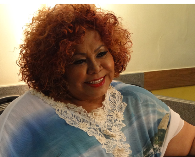Alcione (Foto: TV Globo / Domingão)