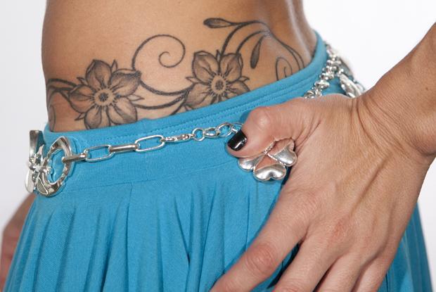 tatuagens Dany (Foto: Caldeirão do Huck/ TV Globo)