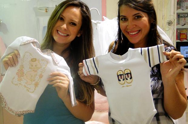 Eloah e Pri - compras (Foto: Caldeirão do Huck/ TV Globo)