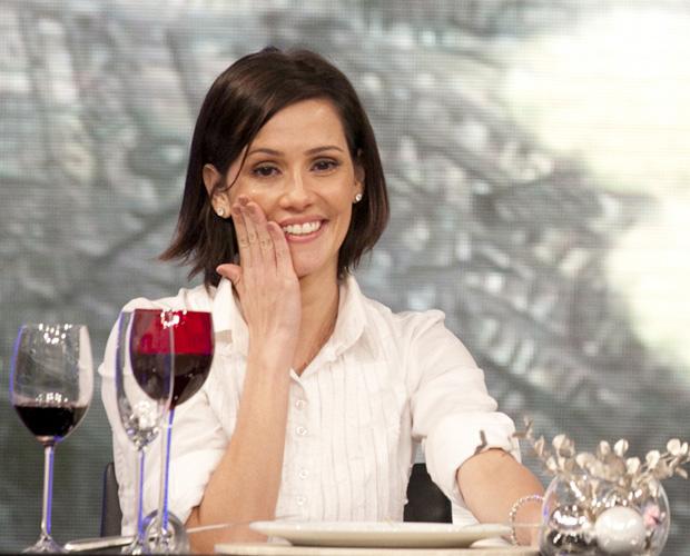 Deborah Secco (Foto: TV Globo / Domingão)
