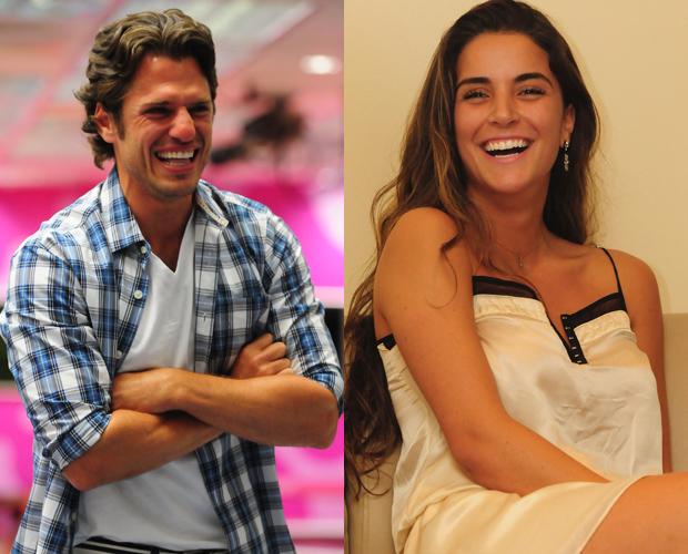 João Maurício e Laisa BBB (Foto: TV Globo / Frederico Rozário)