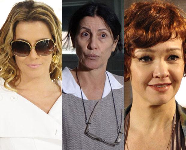 Montagem atriz coadjuvante (Foto: Domingão do Faustão / TV Globo)
