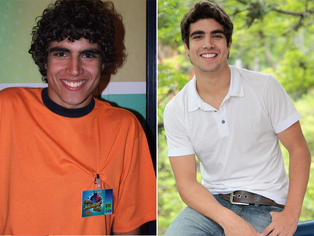 Caio Castro ficou melhor desde que venceu o Concurso Malhação?  (Foto: Arquivo Caldeirão do Huck )