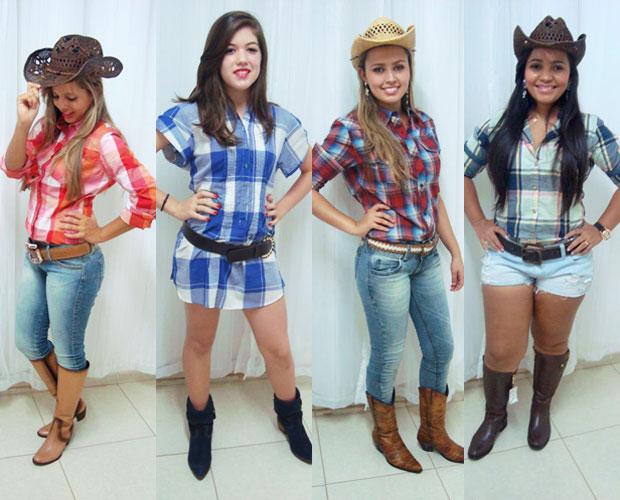 Muitas vezes Esporte com estilo! Veja os looks das cowgirls de Porangatu para  LS07
