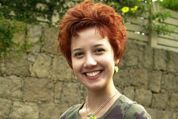 Marjorie Estiano no início da carreira (Foto: TV Globo)