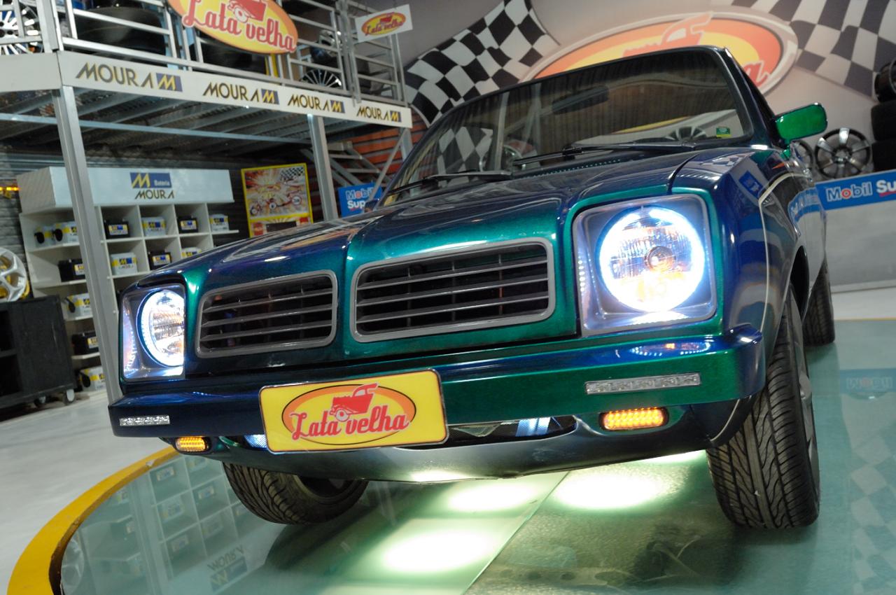 Uau! Chevette 1980 ficou moderníssimo do jeito que o Walter queria!