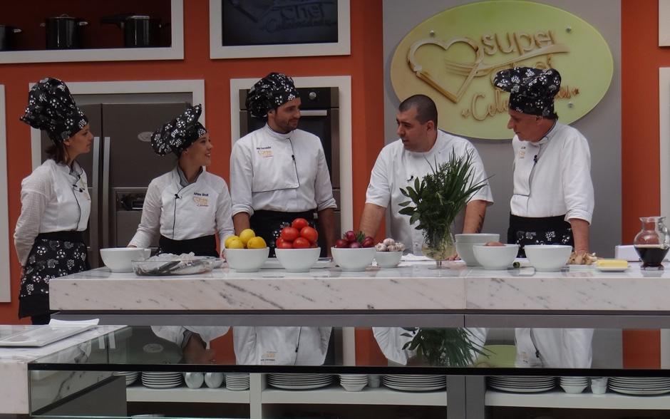 Chef Jefferson Rueda recebeu os famosos para o workshop De Volta à Roça