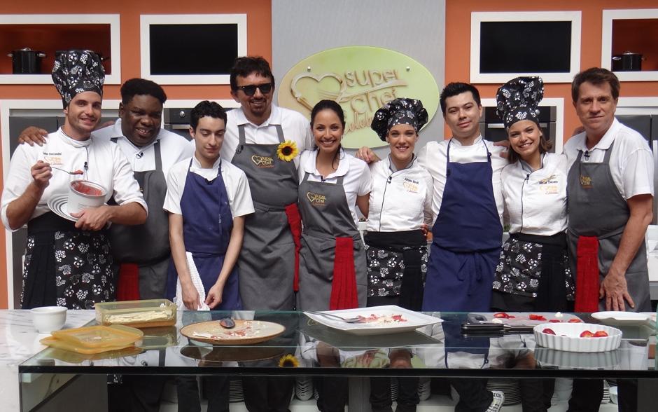 O workshop Cozinha Autoral reuniu todos os participantes do Super Chef Celebridades