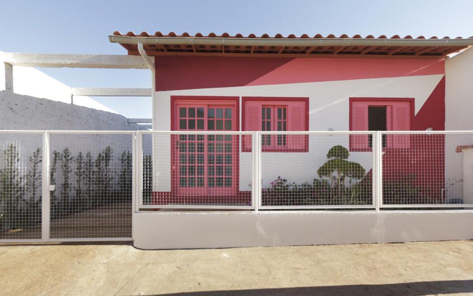 Pintura da casa reformada de Maria Luiza tem formas geométricas!
