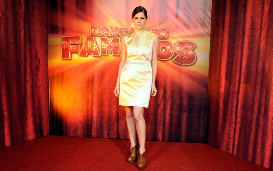Bárbara Paz apostou na originalidade no seu look