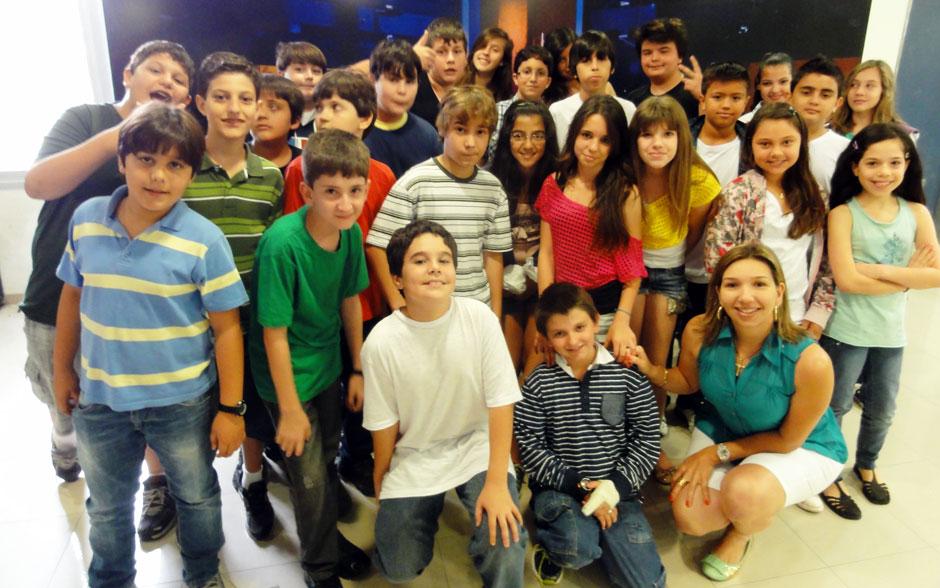Neste sábado, o Altas Horas recebeu o Colégio Integrado, de Jaguariúna (SP)