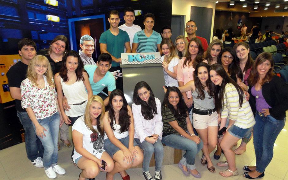 Neste sábado, o Altas Horas recebeu a Escola CERP, de Rio Preto (SP)