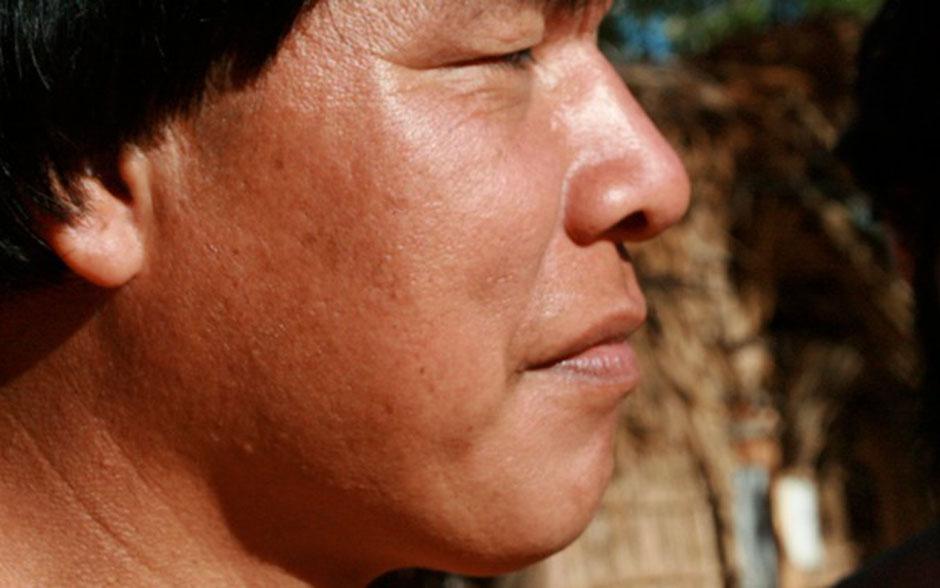 Felipe Camargo tira fotos dos bastidores de Xingu