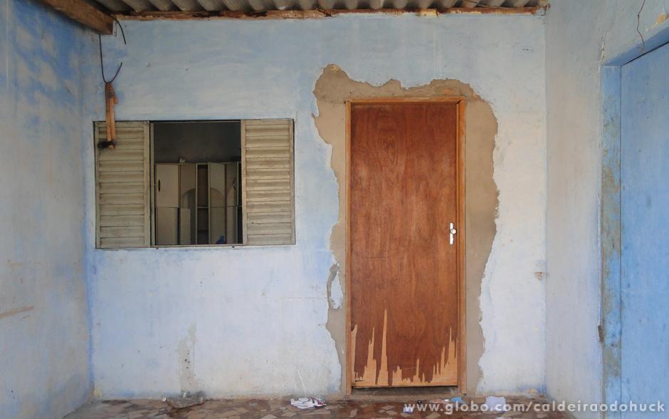 Essa é a antiga fachada da casa da família Teixeira