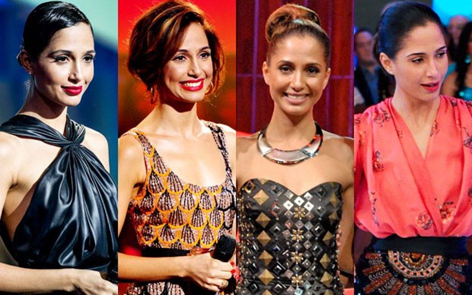 Looks diversos de Camila Pitanga no 'Som Brasil'
