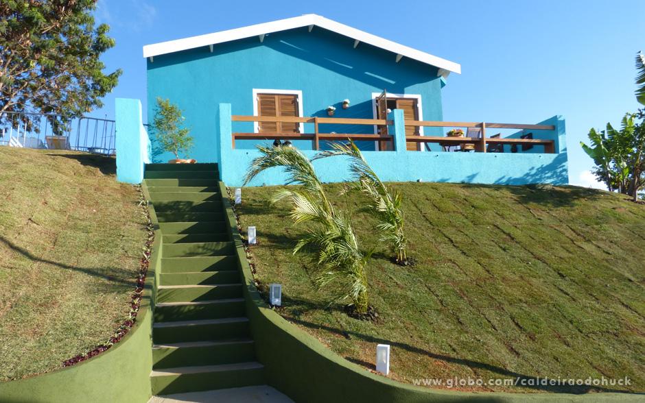 A casa da família da faxineira Roberta Cristiane dos Santos, de Pará de Minas, totalmente reformada pelo 'Lar Doce Lar' (Foto: Caldeirão do Huck / TV Globo)