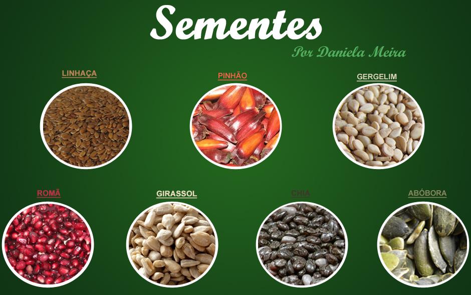 Conheça os benefícios das sementes