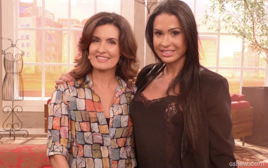 Fátima e Gracyanne Barbosa