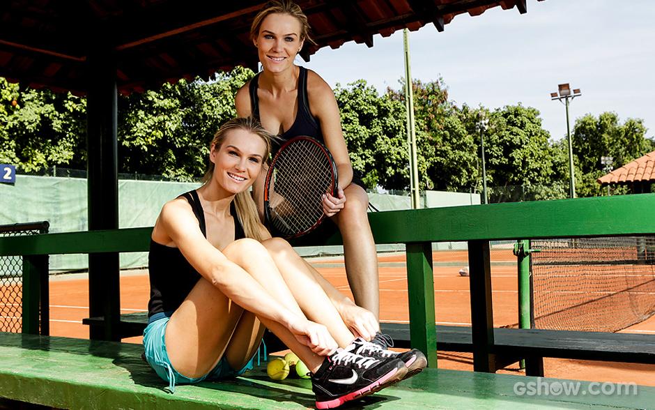 Mônica e Morgane Martin falam sobre paixão pelo tênis