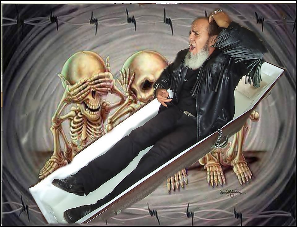 O vampiro brasileiro gosta de descansar no caixão