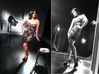 Sexy, Carol Castro estrela campanha de maquiagem