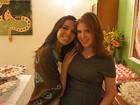 Carolinie Figueiredo recebe Mariana Rios em chá de fraldas