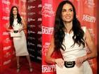 Após divórcio, Demi Moore janta com homem misterioso, diz jornal