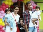 Giovanna Antonelli briga com bufê infantil, diz jornal