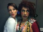 Fã da 'Bandida': Paola Oliveira posta foto ao lado de Valéria, do Zorra Total