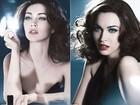 Divulgadas novas fotos de Megan Fox para campanha da Armani
