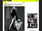 Vocalista do Maroon 5 aparece sem parte do corpo por erro de Photoshop