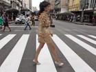 Modelos param - literalmente - o trânsito nas ruas de Recife