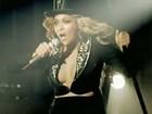 Beyoncé aparece decotada e com barriga imperceptível em clipe